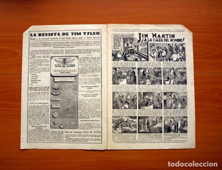 Tebeos: Tim Tyler, nº 13, La paloma mensajera - Editorial Hispano Americana 1934 - Tamaño 39x27 - Foto 2 - 97921143