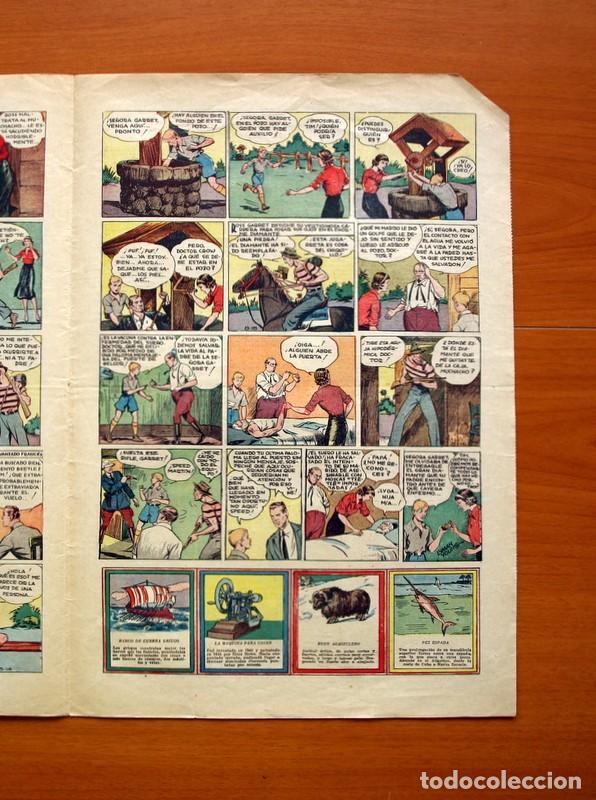 Tebeos: Tim Tyler, nº 13, La paloma mensajera - Editorial Hispano Americana 1934 - Tamaño 39x27 - Foto 4 - 97921143