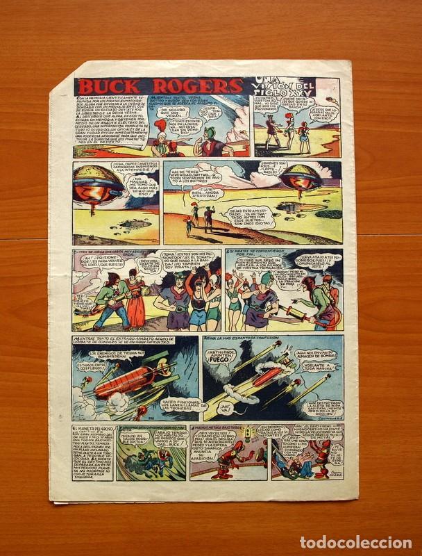 Tebeos: Tim Tyler, nº 13, La paloma mensajera - Editorial Hispano Americana 1934 - Tamaño 39x27 - Foto 5 - 97921143
