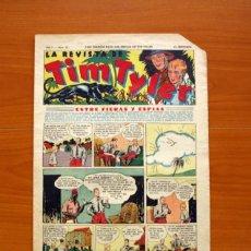 Tebeos: TIM TYLER, Nº 12, ENTRE FIERAS Y ESPÍAS - EDITORIAL HISPANO AMERICANA 1934 - TAMAÑO 39X27 . Lote 97921931