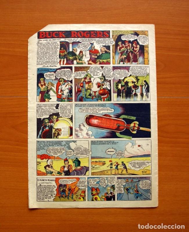 Tebeos: Tim Tyler, nº 12, Entre fieras y espías - Editorial Hispano Americana 1934 - Tamaño 39x27 - Foto 5 - 97921931