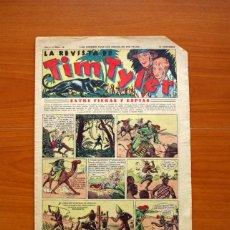 Tebeos: TIM TYLER, Nº 10, ENTRE FIERAS Y ESPÍAS - EDITORIAL HISPANO AMERICANA 1934 - TAMAÑO 39X27 . Lote 97922275