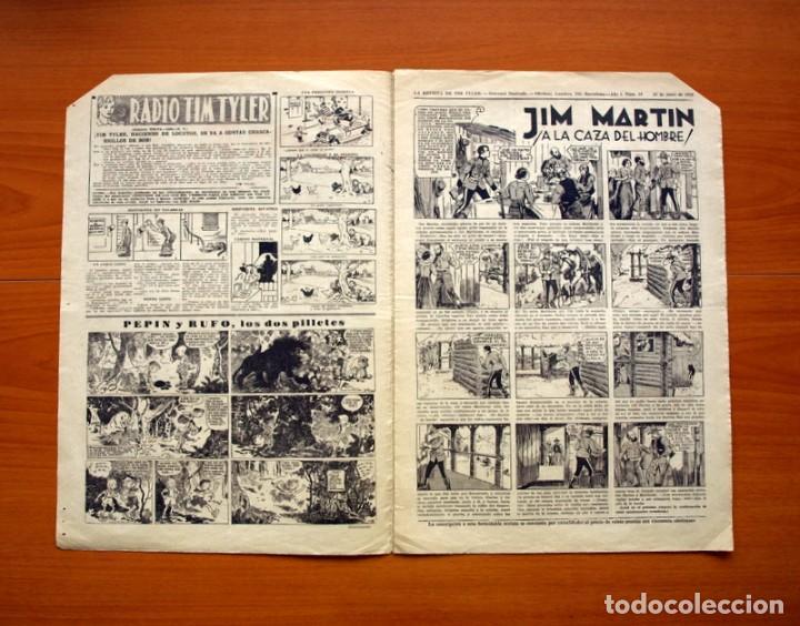 Tebeos: Tim Tyler, nº 10, Entre fieras y espías - Editorial Hispano Americana 1934 - Tamaño 39x27 - Foto 2 - 97922275