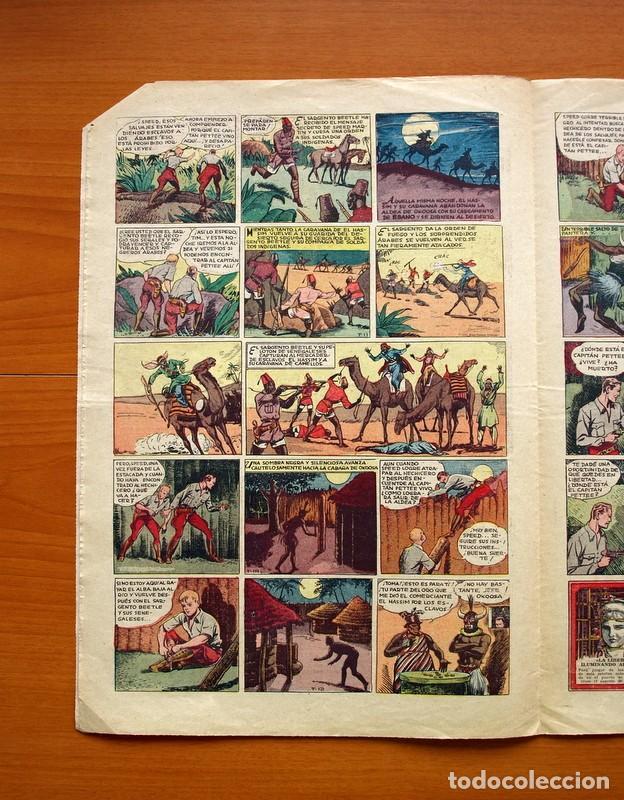 Tebeos: Tim Tyler, nº 10, Entre fieras y espías - Editorial Hispano Americana 1934 - Tamaño 39x27 - Foto 3 - 97922275