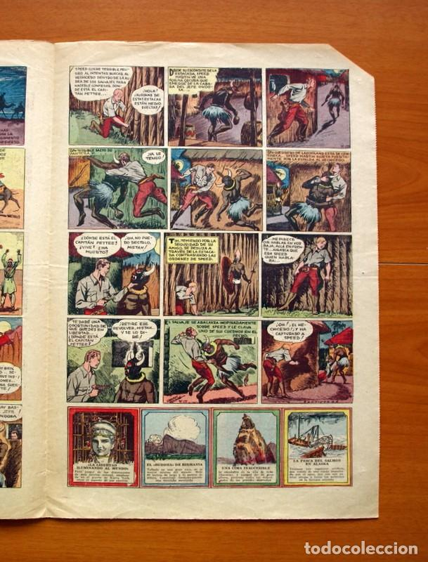 Tebeos: Tim Tyler, nº 10, Entre fieras y espías - Editorial Hispano Americana 1934 - Tamaño 39x27 - Foto 4 - 97922275