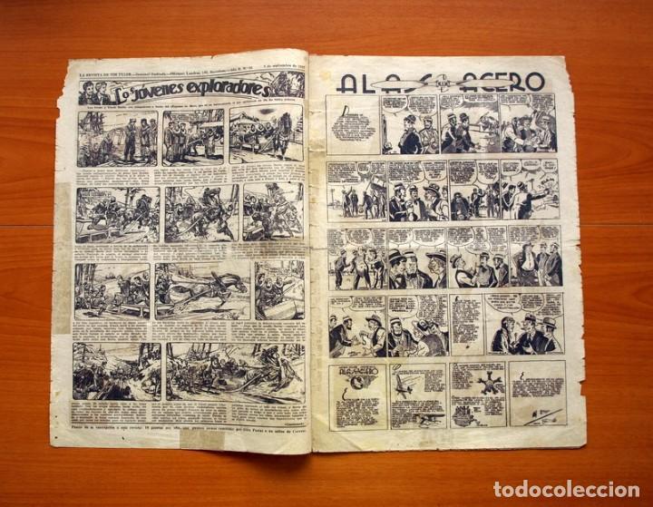 Tebeos: Tim Tyler, nº 66, Oro blanco y Plata negra - Editorial Hispano Americana 1934 - Tamaño 39x27 - Foto 2 - 97922851