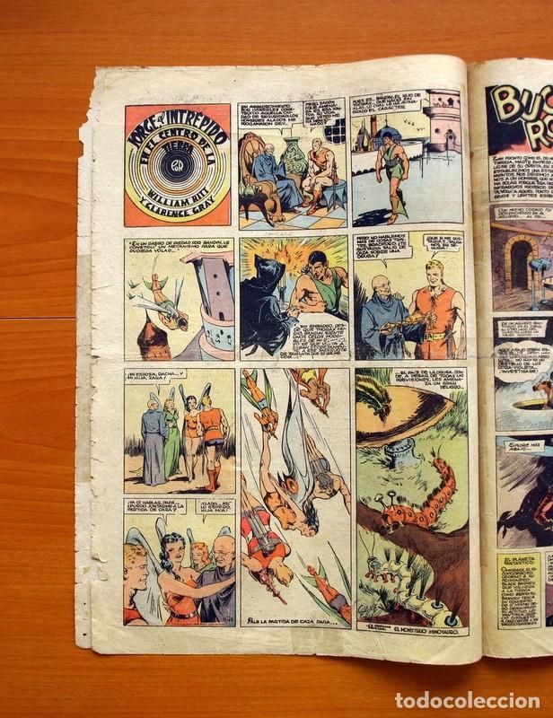 Tebeos: Tim Tyler, nº 66, Oro blanco y Plata negra - Editorial Hispano Americana 1934 - Tamaño 39x27 - Foto 3 - 97922851