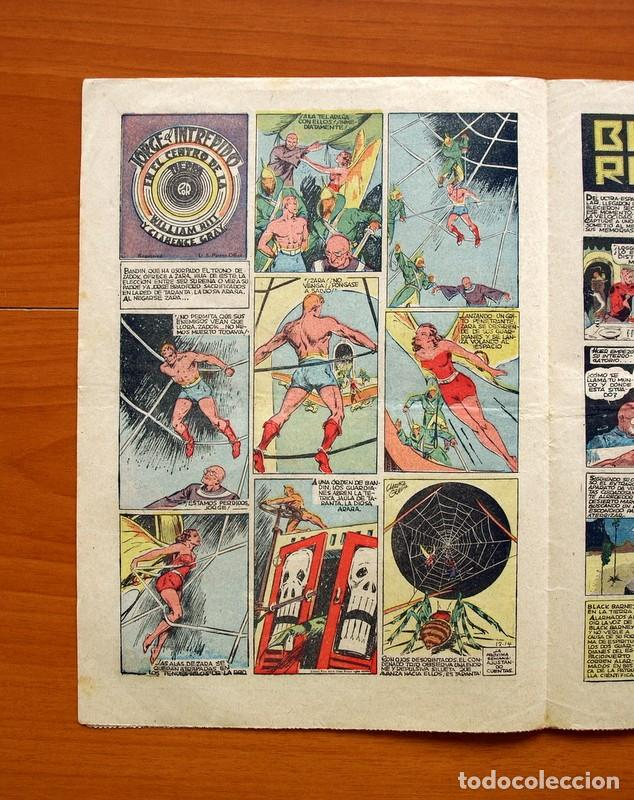 Tebeos: Tim Tyler, nº 70, Oro blanco y Plata negra - Editorial Hispano Americana 1934 - Tamaño 27x19'5 - Foto 2 - 97923395