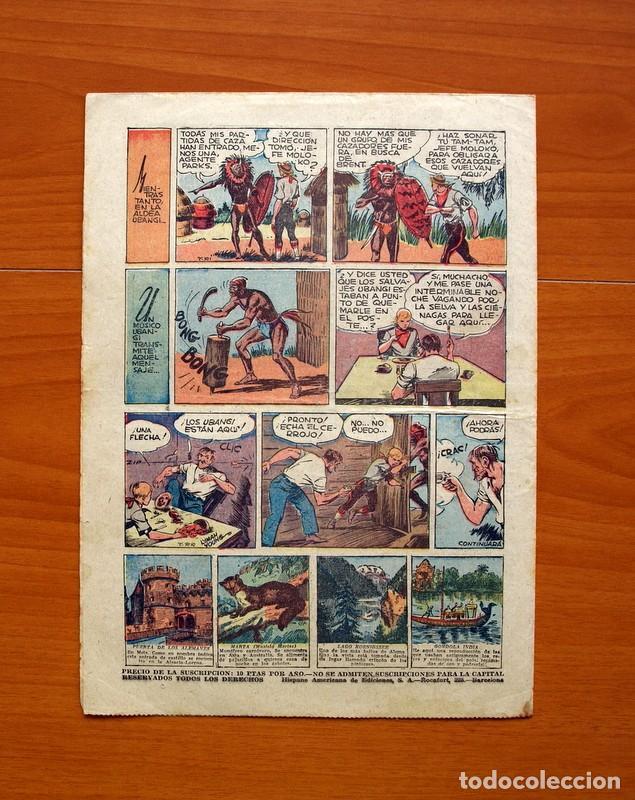 Tebeos: Tim Tyler, nº 70, Oro blanco y Plata negra - Editorial Hispano Americana 1934 - Tamaño 27x195 - Foto 4 - 97923395