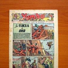 Tebeos: YUMBO, Nº 153, LA FLECHA DE ORO - EDITORIAL HISPANO AMERICANA 1935 - TAMAÑO 27X19'5. Lote 97923699