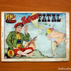 Tebeos: PIN EL TROTAMUNDOS, Nº 5 RETRASO FATAL - EDITORIAL HISPANO AMERICANA 1956 - SIN ABRIR - TAMAÑO 15X21. Lote 97946355