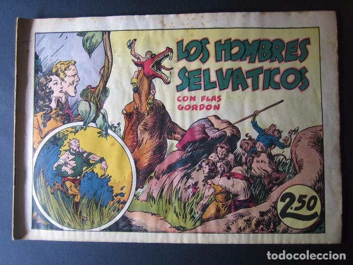 FLAS GORDON Nº 7 ( HISPANO AMERICANA DE EDICIONES,1942) (Tebeos y Comics - Hispano Americana - Flash Gordon)