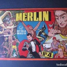 Tebeos: MERLIN Nº4 ( HISPANO AMERICANA DE EDICIONES.1944). Lote 97991583