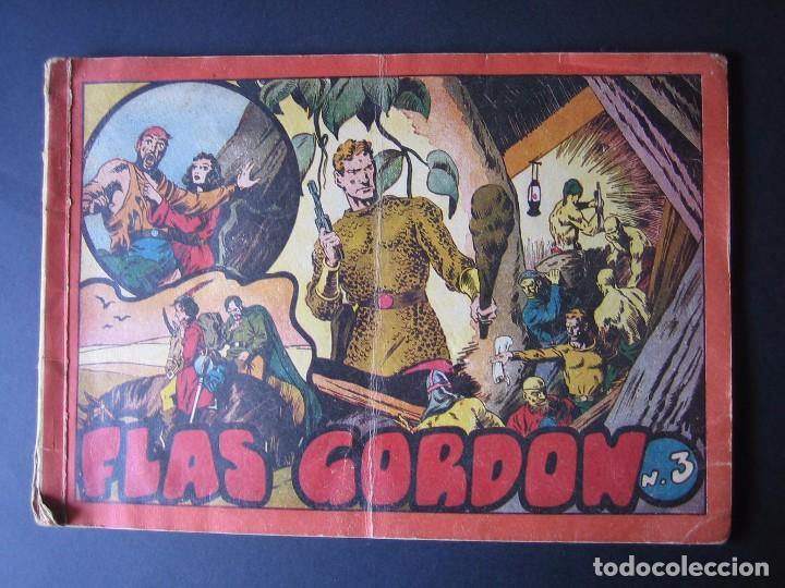 FLAS GORDON Nº 3 ( HISPANO AMERICANA DE EDICIONES.1944) (Tebeos y Comics - Hispano Americana - Flash Gordon)