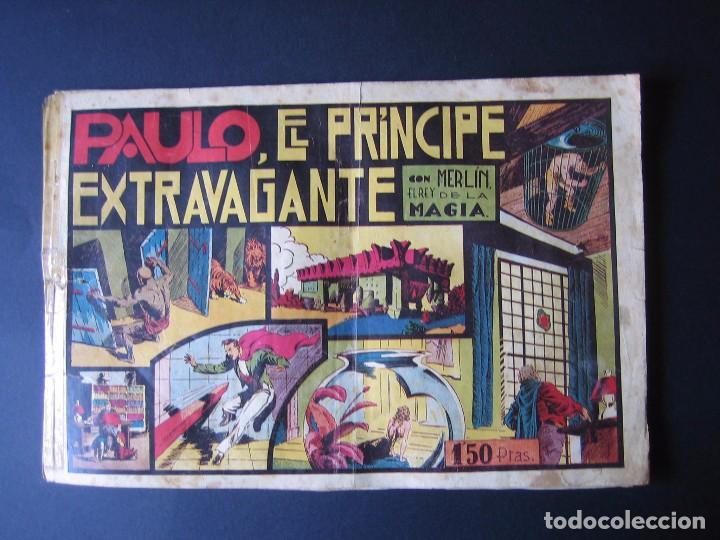 MERLÍN Nº 2 (HISPANO AMERICANA DE EDICIONES.1942) (Tebeos y Comics - Hispano Americana - Merlín)