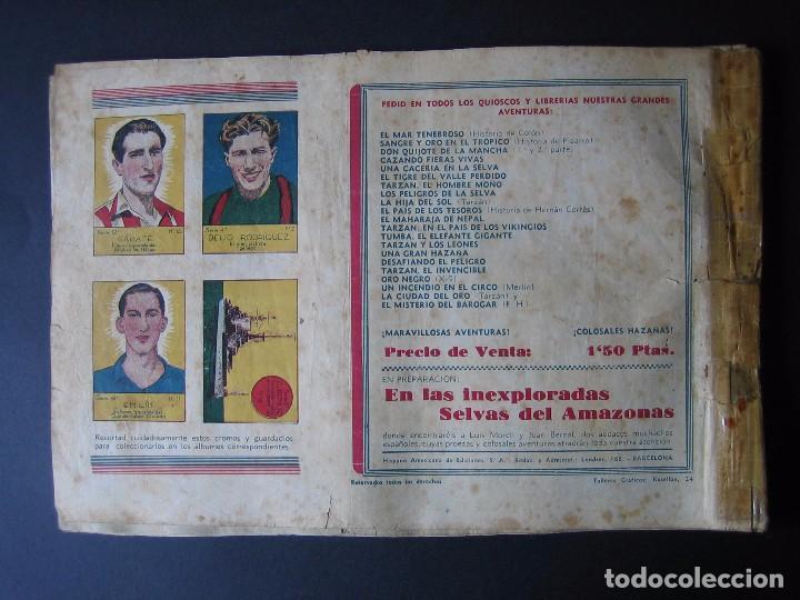 Tebeos: MERLÍN Nº 2 (HISPANO AMERICANA DE EDICIONES.1942) - Foto 2 - 97992031