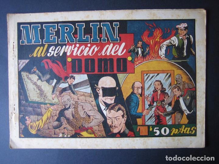 MERLÍN Nº 20 ( HISPANO AMERICANA DE EDICIONES,1942) (Tebeos y Comics - Hispano Americana - Merlín)