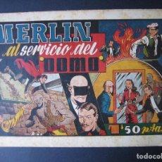 Tebeos: MERLÍN Nº 20 ( HISPANO AMERICANA DE EDICIONES,1942). Lote 97992575
