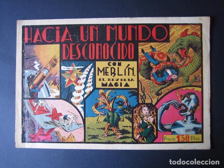 MERLÍN Nº 3 (HISPANO AMERICANA DE EDICIONES,1942) (Tebeos y Comics - Hispano Americana - Merlín)