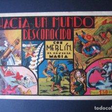 Tebeos: MERLÍN Nº 3 (HISPANO AMERICANA DE EDICIONES,1942). Lote 97992999