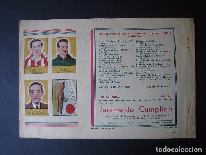 Tebeos: MERLÍN Nº 3 (HISPANO AMERICANA DE EDICIONES,1942) - Foto 2 - 97992999