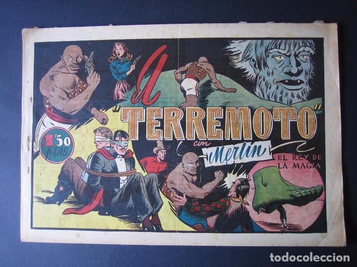 MERLÍN Nº 26 (HISPANO AMERICANA DE EDICIONES,1942) (Tebeos y Comics - Hispano Americana - Merlín)