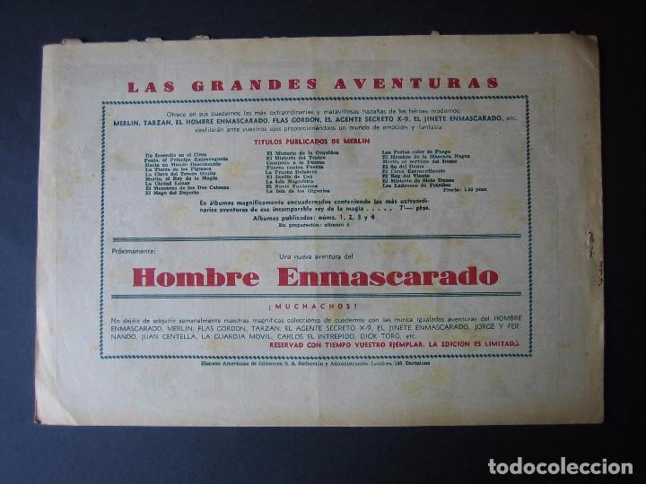 Tebeos: MERLÍN Nº 26 (HISPANO AMERICANA DE EDICIONES,1942) - Foto 2 - 97993371
