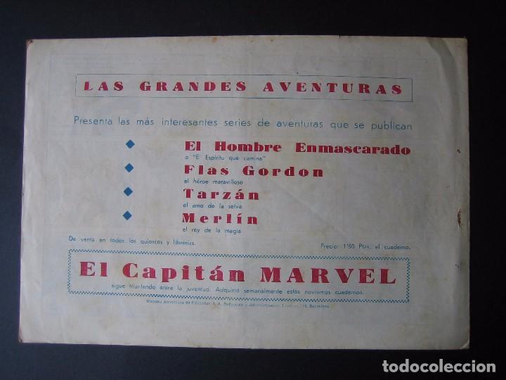 Tebeos: MERLÍN Nº 44 (HISPANO AMERICANA DE EDICIONES,1942) - Foto 2 - 97994283