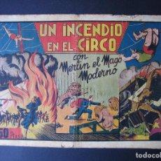 Tebeos: MERLÍN Nº 1 (HISPANO AMERICANA DE EDICIONES, 1942). Lote 97994427
