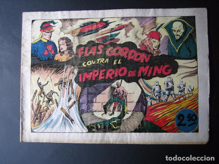 Tebeos: FLAS GORDON Nº 5 ( 1942,HISPANO AMERICANA) - Foto 2 - 97984567