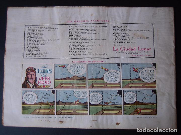 Tebeos: FLAS GORDON Nº 5 ( 1942,HISPANO AMERICANA) - Foto 3 - 97984567