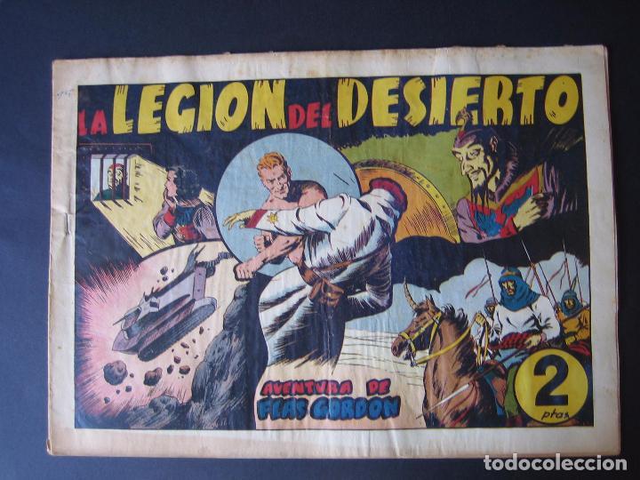 Tebeos: FLAS GORDON Nº 9 ( 1942, HISPANO AMERICANA ) - Foto 2 - 97985255