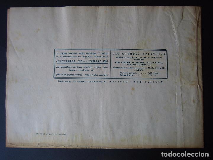 Tebeos: FLAS GORDON Nº 9 ( 1942, HISPANO AMERICANA ) - Foto 3 - 97985255