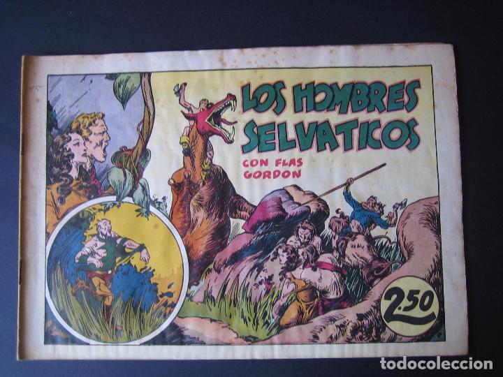 Tebeos: FLAS GORDON Nº 7 ( HISPANO AMERICANA DE EDICIONES,1942) - Foto 2 - 97985575