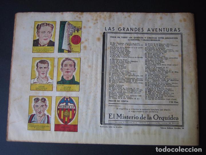 Tebeos: FLAS GORDON Nº 7 ( HISPANO AMERICANA DE EDICIONES,1942) - Foto 3 - 97985575