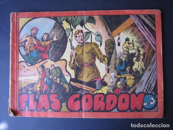 Tebeos: FLAS GORDON Nº 3 ( HISPANO AMERICANA DE EDICIONES.1944) - Foto 2 - 97991747