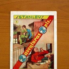 Livros de Banda Desenhada: DOS AVENTURAS, Nº 7, STANLEY, EL CORONEL SOKOFF - HISPANO AMERICANA 1957 - TAMAÑO 22X15'5. Lote 98105007