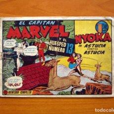 Tebeos: EL CAPITÁN MARVEL, Nº 49 - HISPANO AMERICANA EN 1947 - TAMAÑO 17X25. Lote 98105667