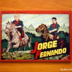 Tebeos: JORGE Y FERNANDO, ÁLBUM Nº 4 - EDITORIAL HISPANO AMERICANA 1944 - TAMAÑO 17X25. Lote 98106975