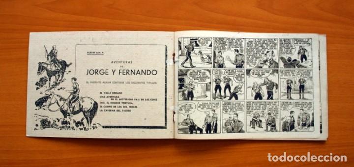 Tebeos: Jorge y Fernando, álbum nº 4 - Editorial Hispano Americana 1944 - Tamaño 17x25 - Foto 3 - 98106975