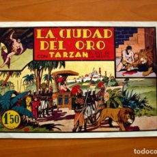Tebeos: TARZÁN - Nº 6 LA CIUDAD DEL ORO - EDITORIAL HISPANO AMERICANA 1942 - TAMAÑO 21'5X31. Lote 98107495