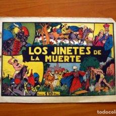 Tebeos: TARZÁN - Nº 13, LOS JINETES DE LA MUERTE - EDITORIAL HISPANO AMERICANA 1942 - TAMAÑO 21'5X31. Lote 98107579