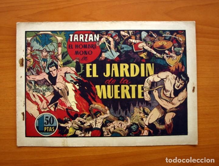 TARZÁN - Nº 25, EL JARDIN DE LA MUERTE - EDITORIAL HISPANO AMERICANA 1942 - TAMAÑO 21'5X31 (Tebeos y Comics - Hispano Americana - Tarzán)
