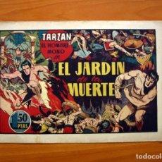Tebeos: TARZÁN - Nº 25, EL JARDIN DE LA MUERTE - EDITORIAL HISPANO AMERICANA 1942 - TAMAÑO 21'5X31. Lote 98108291