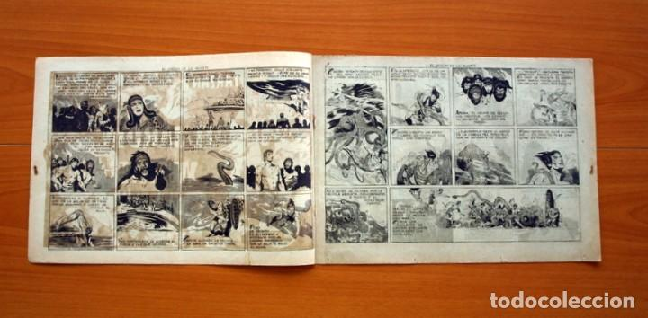 Tebeos: Tarzán - nº 25, El jardin de la muerte - Editorial Hispano Americana 1942 - Tamaño 215x31 - Foto 2 - 98108291
