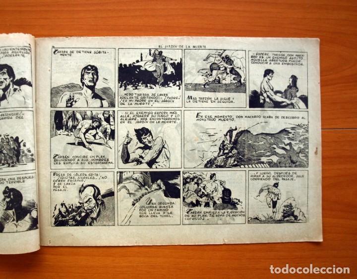 Tebeos: Tarzán - nº 25, El jardin de la muerte - Editorial Hispano Americana 1942 - Tamaño 215x31 - Foto 3 - 98108291