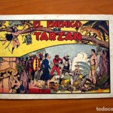 Tebeos: TARZÁN - Nº 14, EL ENEMIGO DE TARZÁN - EDITORIAL HISPANO AMERICANA 1942 - TAMAÑO 21'5X31. Lote 98108683