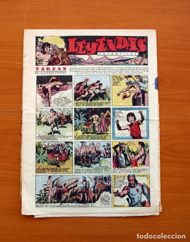 Tebeos: Leyendas Infantiles, nº 112 - Editorial Hispano Americana 1944 - Tamaño 37x27 - Foto 5 - 98119495