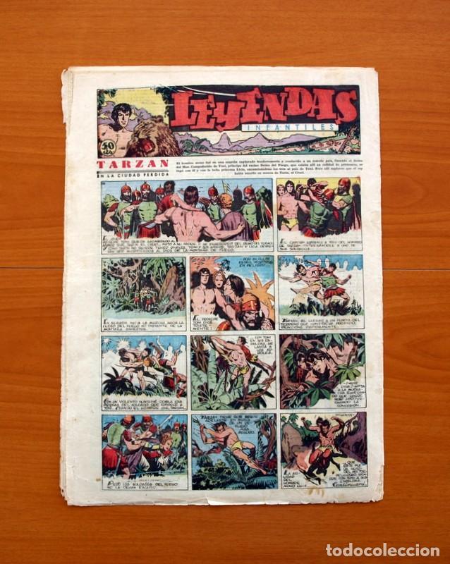 Tebeos: Leyendas Infantiles, nº 113 - Editorial Hispano Americana 1944 - Tamaño 37x27 - Foto 6 - 98119571