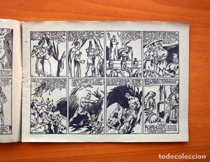 Tebeos: Carlos el intrépido nº 6, El valle de los hombres verdes - Editorial Hispano Americana 1942 - Foto 4 - 98136407